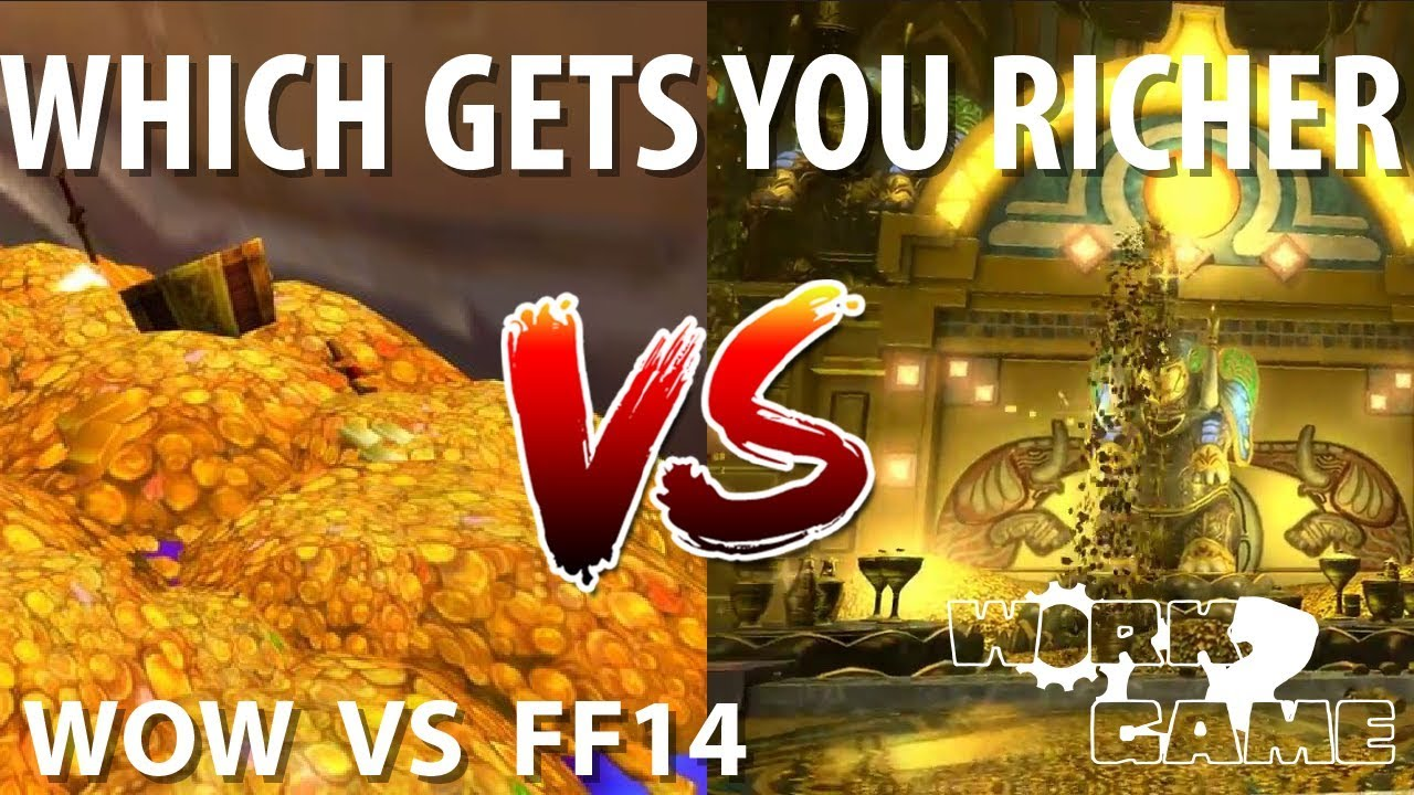 Which MMO is easier to make money in? [WOW vs FFXIV]