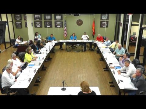 Health Committee Meeting - 9/11/2017