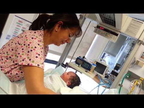 New Born Baby's First Bath