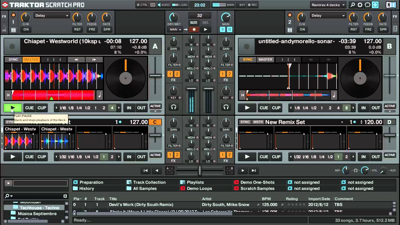 tutorial traktor scratch pro 2 5 1 crear un remix set con loops rh youtube com Native Instruments Traktor Pro 2 Traktor Pro 2 5.Torrent