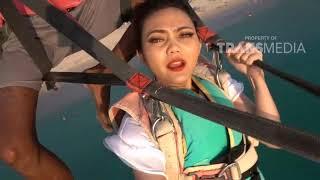 COMEDY TRAVELER - Rina Nose Pertama Kali Bermain Parasailing Di Phuket, Thailand (29/7/18) Part 3
