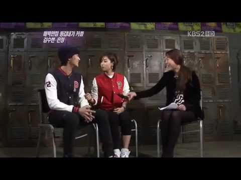 [TV show] Interview cut 110212 -- Kim Soo Hyun_Ham Eun Jung