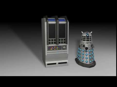 Dalek Computer Bank