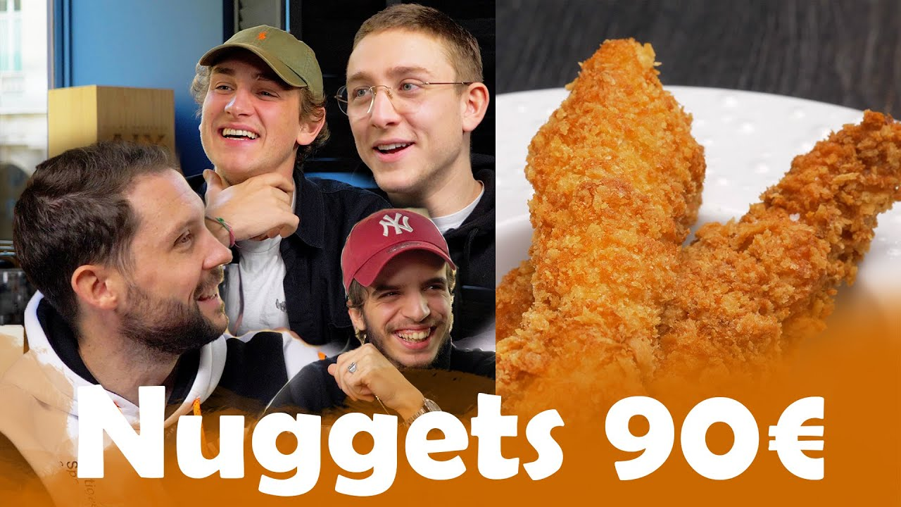 Nuggets McDo VS Nuggets à 90€ avec le Groupe 47Ter !