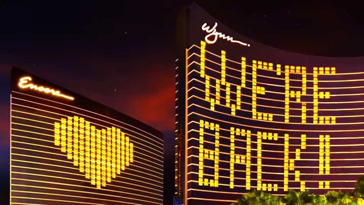 Las Vegas Strip Reopened Today What S It Like Youtube