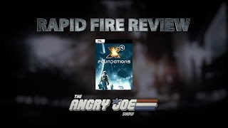 X4: Foundations Rapid Fire Review (Video Game Video Review)