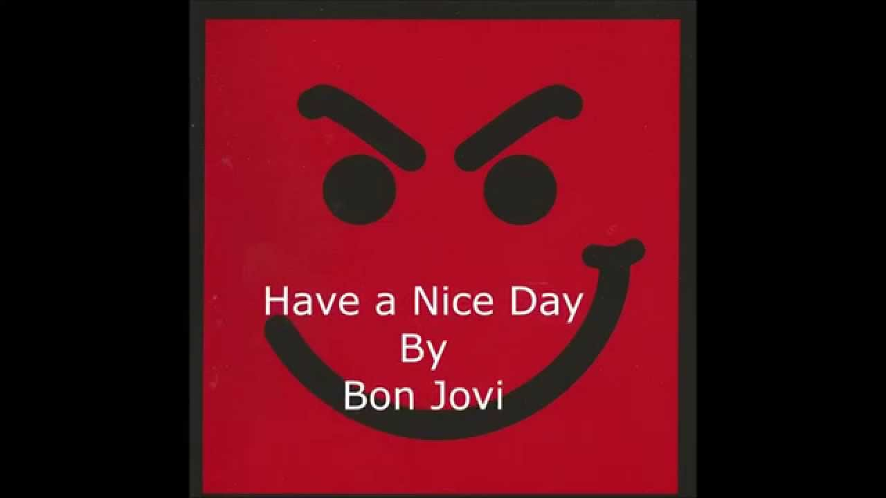 Have a Nice Day (Bon Jovi album) - Wikipedia