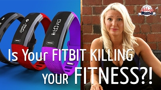 Is Your FITBIT KILLING Your FITNESS?! | Why I QUIT My Fitness Tracker | STRENGTH TRAINING vs CARDIO