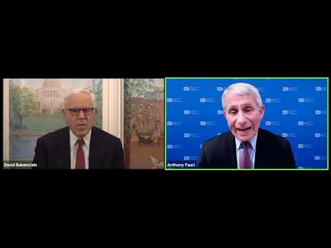 Scientific Leadership In A Public Health Crisis: Dr. Anthony Fauci With David Rubenstein