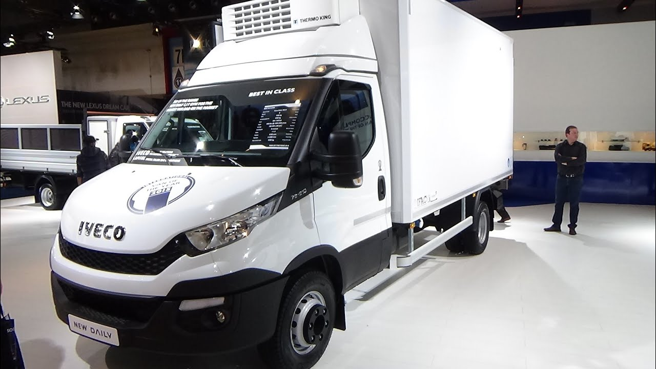 2015, Iveco Daily 70C2l  YouTube