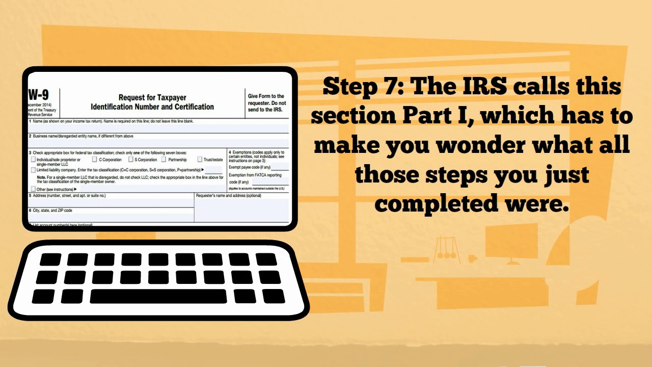 W-9 Form (How to fill out) - YouTube