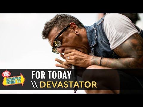 For Today  Devastator  2014 Vans Warped Tour