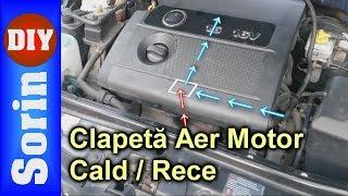 Clapeta Reglare Temperatura Aer Motor - 1.4 16v / 1.6 16v VAG