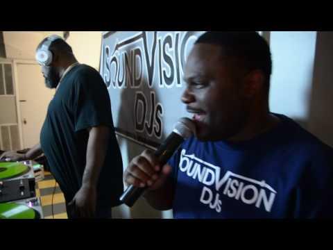 DJ Biz Markie 15 mins of rocking in Baltimore 7-12-17