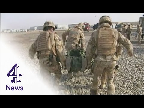 British military medics treat fallen heroes in Afghanistan | Channel 4 News