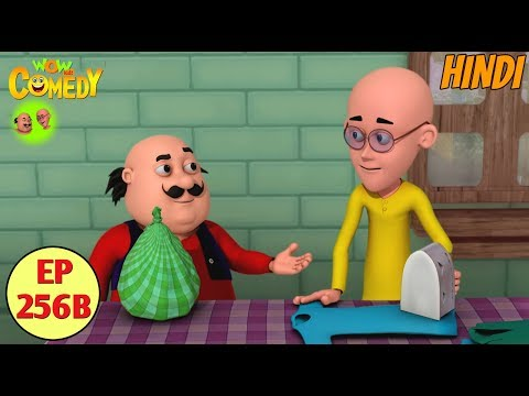 Motu Patlu in Hindi | 3D Animated Cartoon Series for Kids | The Laundry Shop