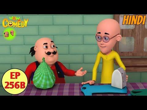 Motu Patlu in Hindi | 3D Animated Cartoon Series for Kids | The Laundry Shop thumbnail