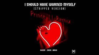 Kaizer, Zheke, Miraii - I Should Have Warned Myself (Prince LJ Remix)