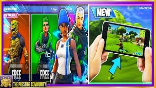 *NEW* FREE SKINS & Fortnite MOBILE Coming SOON! - HOW TO GET FREE SKINS, New LEAKS! (Fortnite 3.2.0)