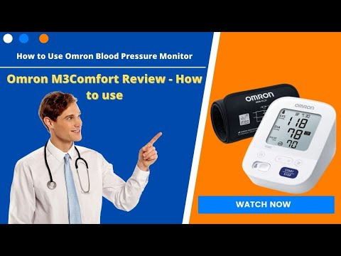 how-to-check-blood-pressure-with-omron-m3-comfort-.#bloodpressure-measurement.