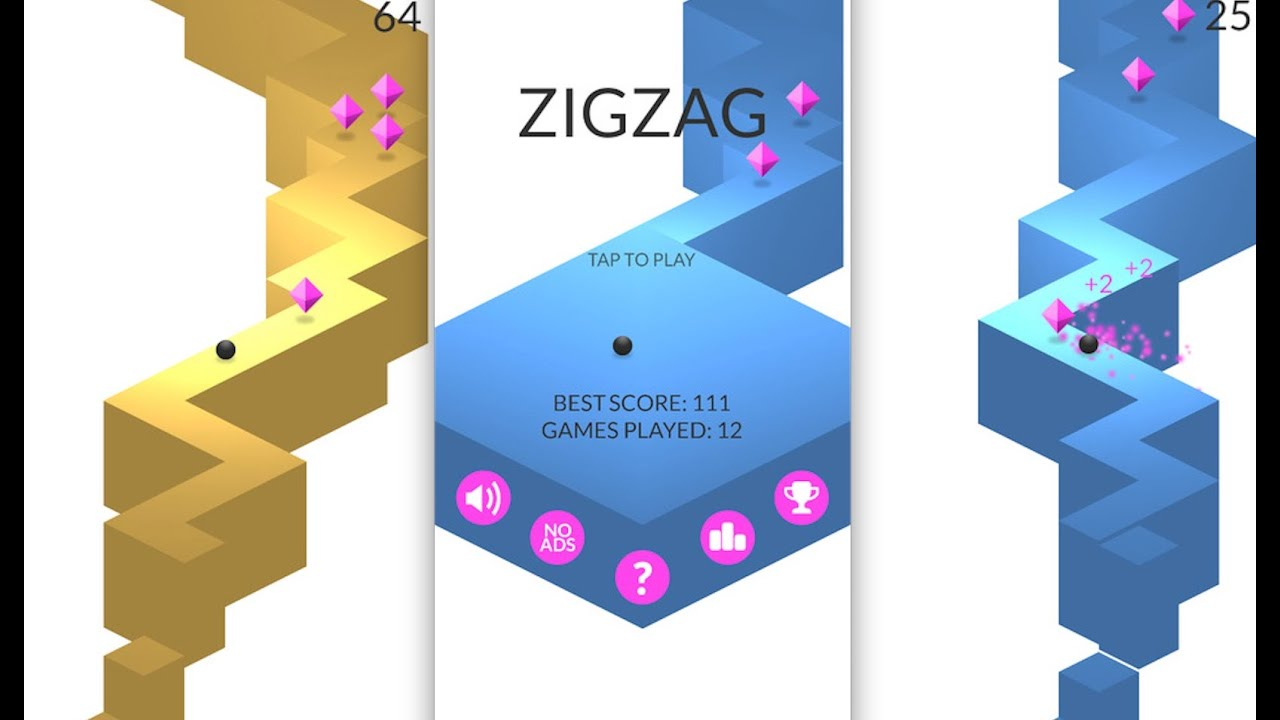 Zigzag Ios Iphone Ipad Youtube