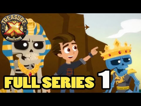 Treasure X SERIES 1 💀 ALL EPISODES   Cartoons for Children