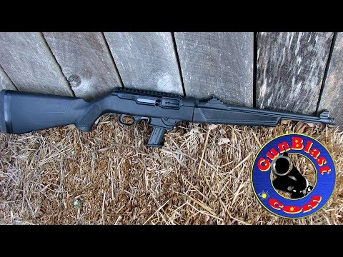 Shooting the NEW Ruger 9mm PC Carbine - Gunblast.com