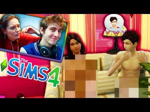 The Sims 4 - GIRO NUDO PER CASA CON SELENA GOMEZ!! - w/LaSabri