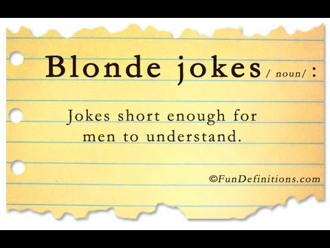 Brunette Jokes One Liners 18