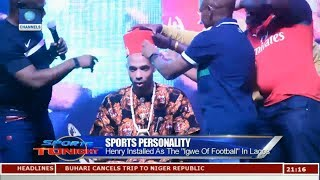 Henry Installed As The 'Igwe Of Football' In Lagos | Sports Tonight |