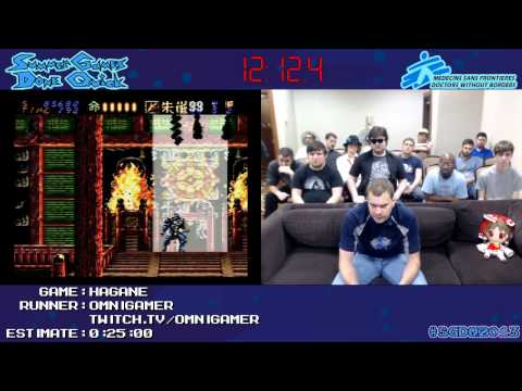 Hagane :: SPEED RUN (0:17:13) [SNES] by Omnigamer #SGDQ 2013