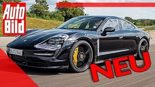 Porsche Taycan (2019): Test - Elektro - Infos