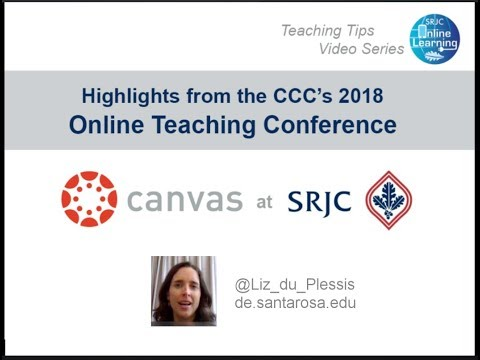 Online Teaching Conference 2018   Highlights