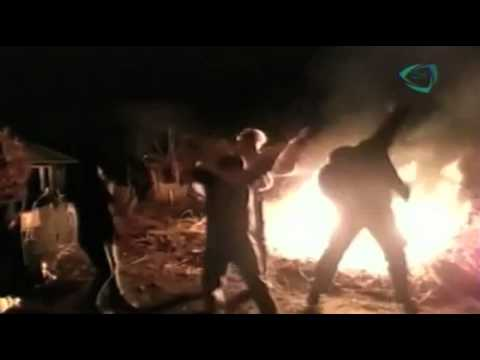 """Impactante video, Joven baila """"harlem shake"""" y cae al fuego"""