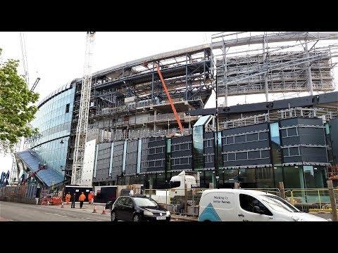 Spurs New Stadium - White Hart Lane - 03 May 2018