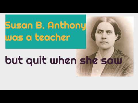 Susan B. Anthony Biography for Kids | Classroom Edition