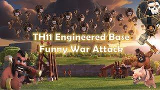 TH11 engineered base funny war attacks