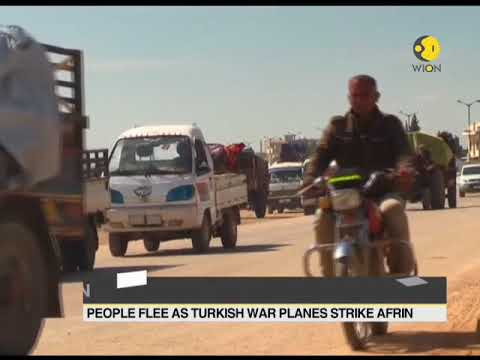 Thousand of Syrians stream out of their towns
