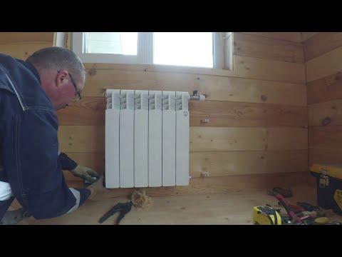 Отопление в каркасном доме своими руками схема