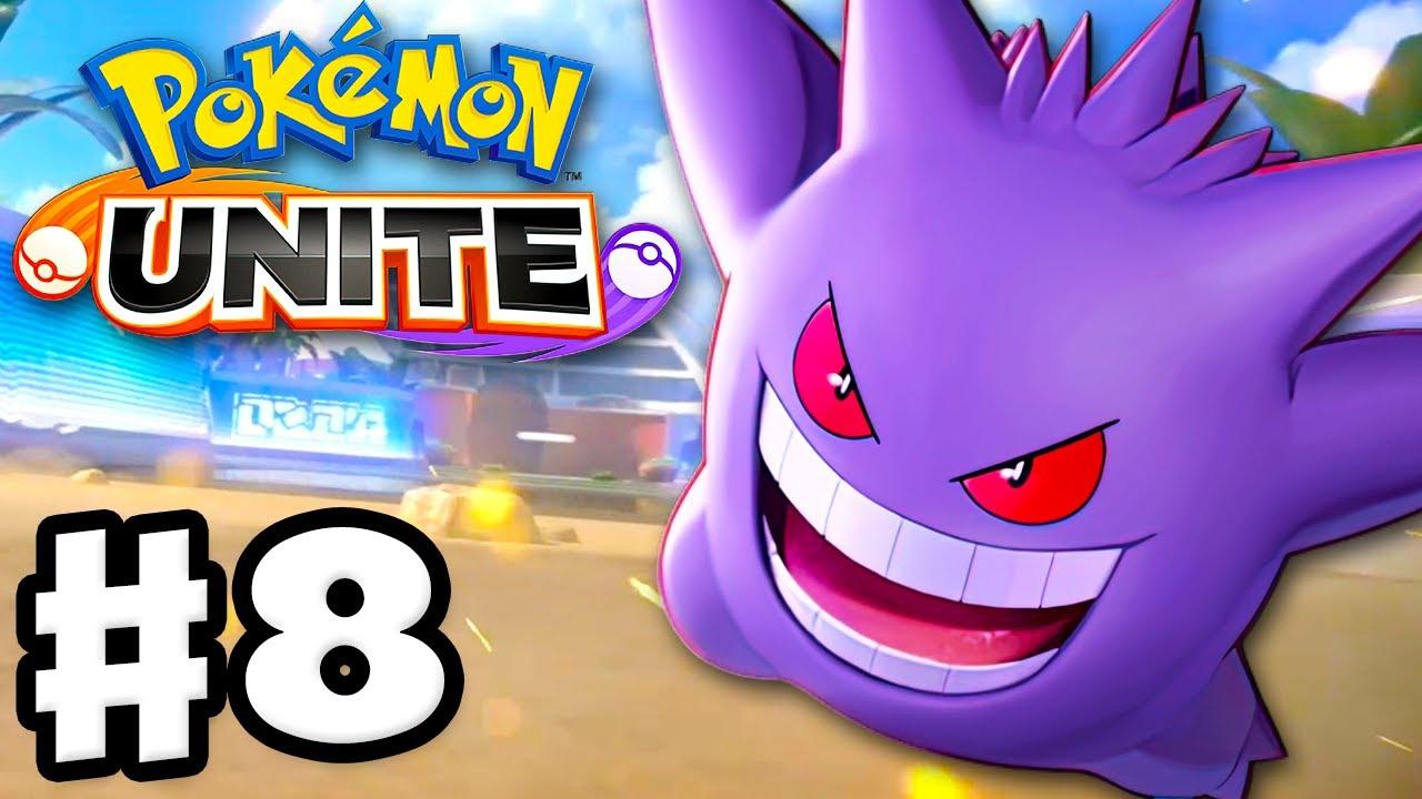 Gengar Gets Me to Great Ranking! - Pokemon Unite - Gameplay Walkthrough Part 8 (Nintendo Switch)