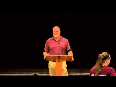 CCC Chapel - November 14, 2012 - A Big God Worldview - NCCAA Champions Recognition