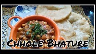 Chhole Bhature Recipe | Chhola Bhature Easy Recipe | Ghare