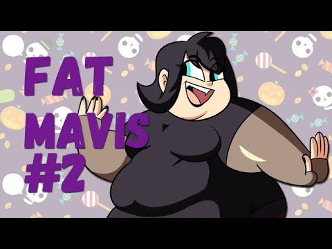 Mavis (Hotel Transylvania) as Fat Parody #2
