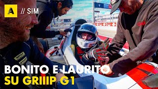 "Enzo Bonito e Amos Laurito su Griiip G1 2019 | ""Sim racers in real racing car..."""
