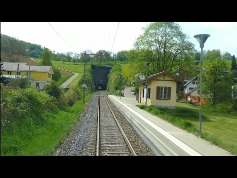 ★ Sissach - Läufelfingen - Olten: Cab ride on the original line between Basel & Olten
