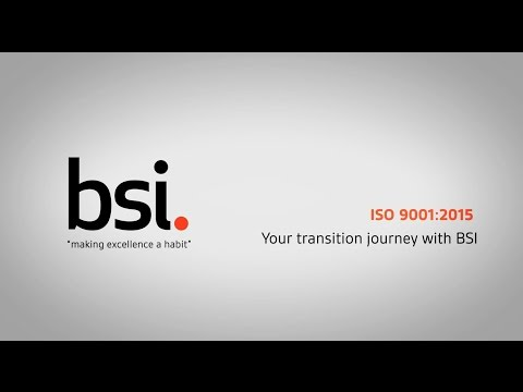 ISO 9001:2015 - Your transition journey with BSI