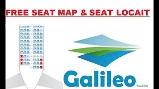 GALILEO || FREE AIRLINE SEAT LOCAIT IN GALILEO || How to create a custom Eventbrite seat Map