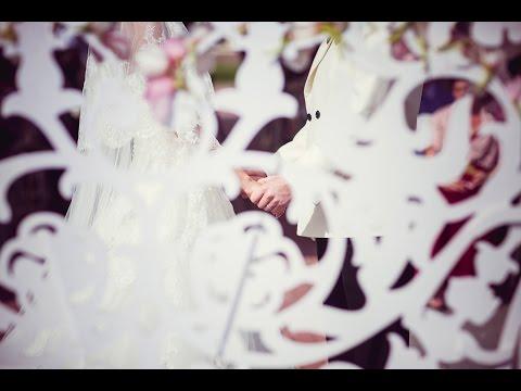 «Розово-золотая свадьба» – свадебный клип