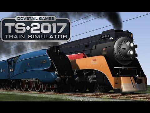 Train Simulator 2017 - Daylight V.S. Mallard (Race!)