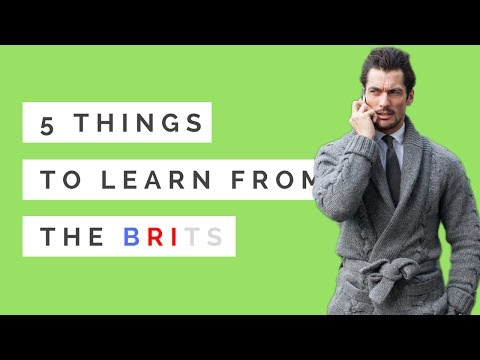 5 Style Rules that Brits Brought to the World. British style. British guys are the most stylish.